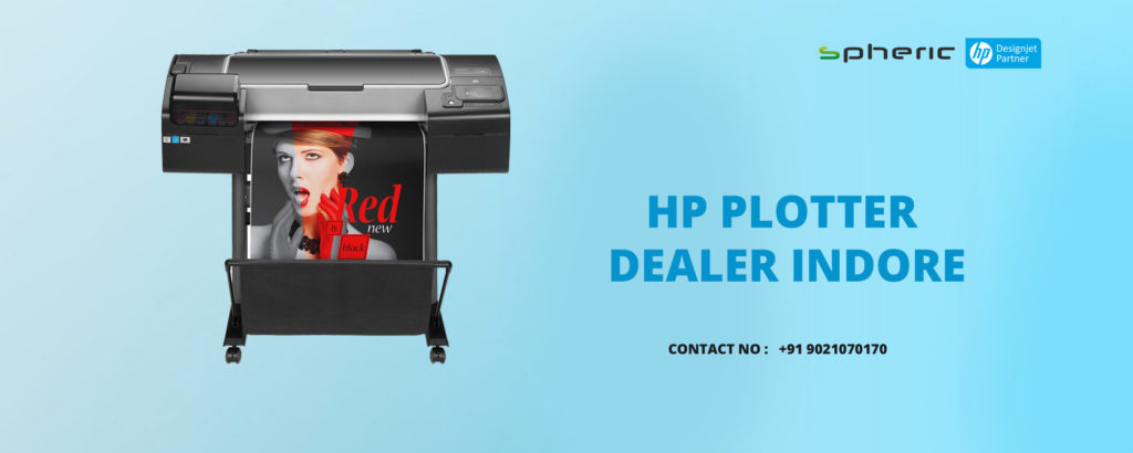 hp plotter dealer indore