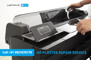 hp plotter repair service